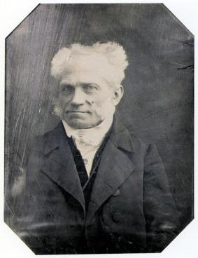 Porträt des Philosophen Arthur Schopenhauer, 1845