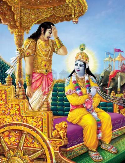 Arjuna in crisis