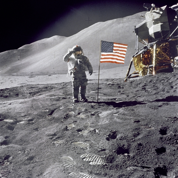 Man on moon hoax